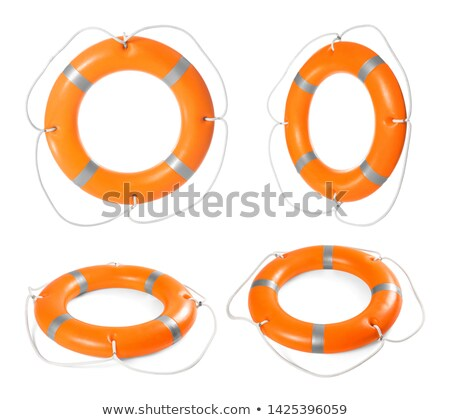 naranja · salvavidas · cuerda · naturaleza · mar · fondo - foto stock © smuki