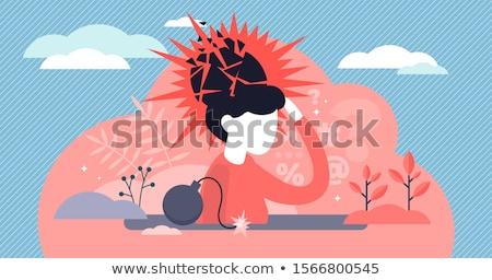 PTSD Diagnosis. Medical Concept.  Stock photo © tashatuvango