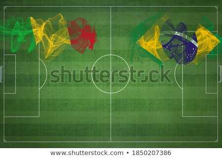 Brazil and Mali Flags Stock photo © Istanbul2009