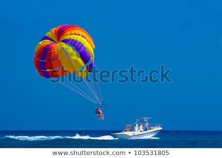 Para Sailing stock photo © pazham