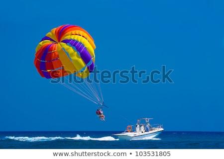 Para Sailing stock photo © pazham