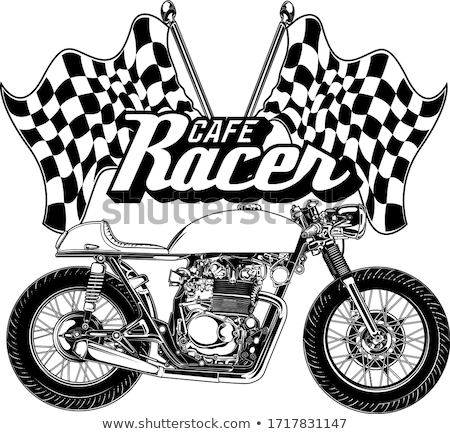 racer on a motorcycle  Stock photo © OleksandrO