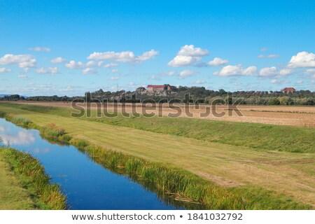 view to river Unstrut Stock photo © meinzahn