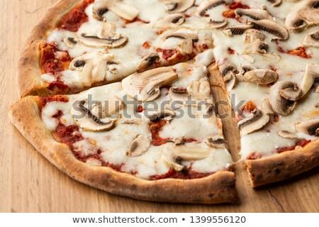 Pizza Fungi Stock photo © Digifoodstock