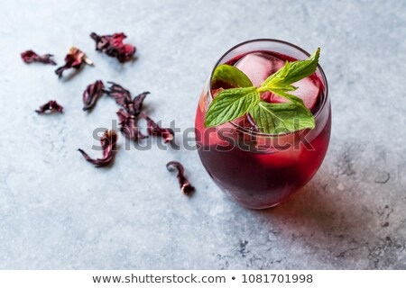 Hibiscus iced tea  Stock photo © Digifoodstock