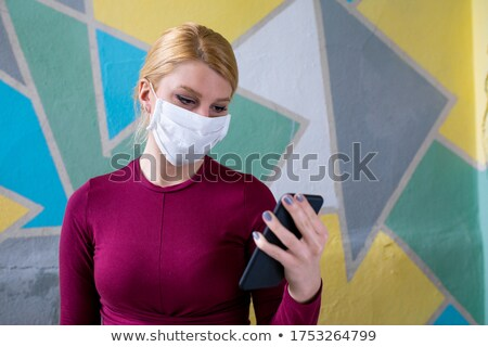 Mobile phone and GSM frustration Stock photo © blasbike
