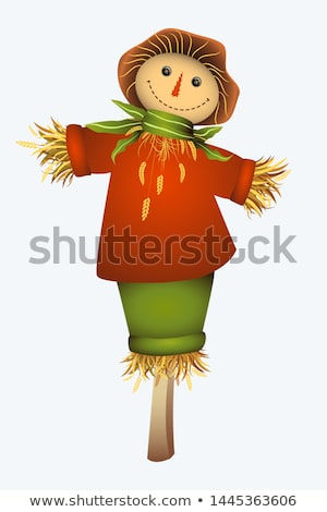 female scarecrow Stock photo © adrenalina