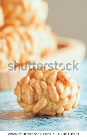 homemade panellets, typical of Catalonia, Spain Stock photo © nito