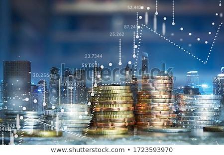 Valuta csere üzlet pénzügy 3d illusztráció persely Stock fotó © idesign