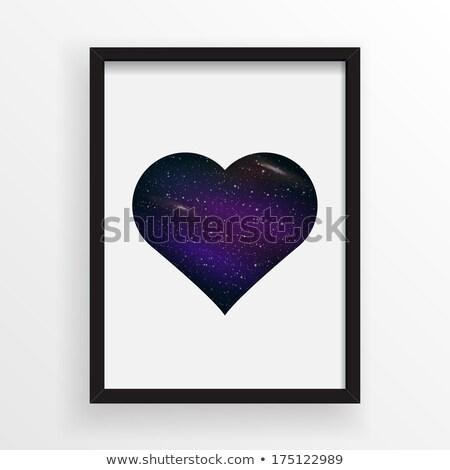quadro · de · imagem · forma · de · coração · eps · 10 · coração · quadro - foto stock © beholdereye