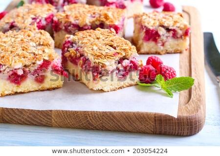 Raspberry crumb cake Stock photo © Digifoodstock