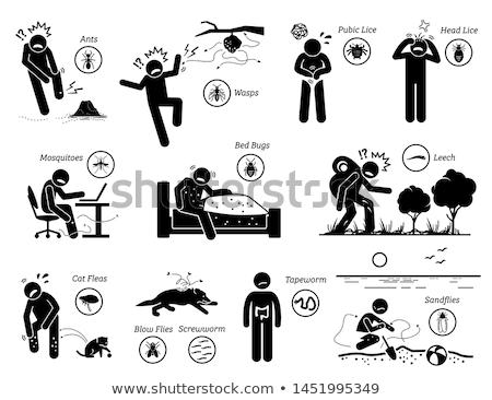 Stock photo: Leech attack
