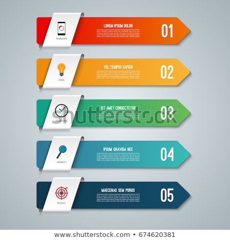 Abstract Symbol of Colorful Diagonal Bars Icon Stock photo © cidepix