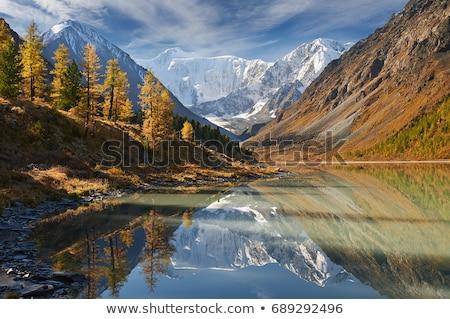 spadek · rzeki · krajobraz · kolorowy · jesienią · drzew - zdjęcia stock © imaster