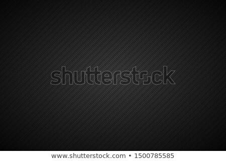 暗い 抽象的な メタリック 行 黒 グレー ストックフォト © kurkalukas