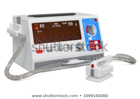 tachycardia medicine 3d illustration stock photo © tashatuvango