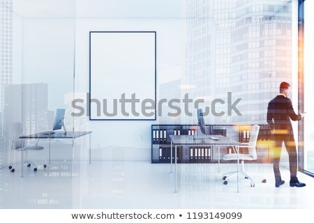closed on office folder toned image stock photo © tashatuvango