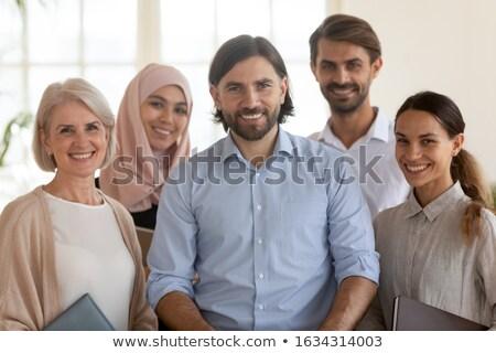 портрет · менеджера · позируют · коллега · рабочих · служба - Сток-фото © is2