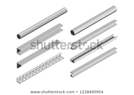 Steel corner isometric, vector illustration. Stock photo © kup1984