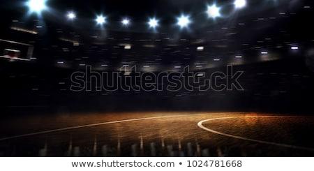 пусто баскетбольная площадка цель спорт Сток-фото © IS2
