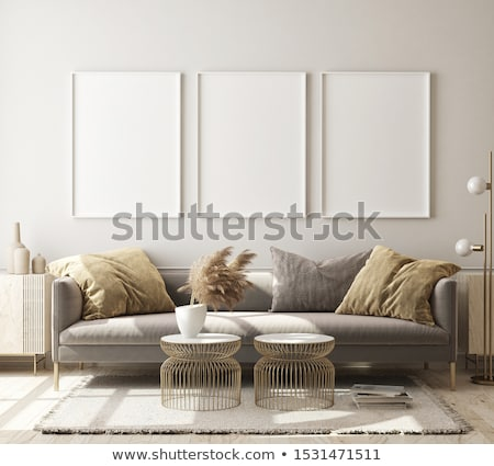 poster · oda · duvar · yukarı · 3D - stok fotoğraf © user_11870380