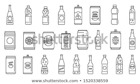свежие · фрукты · Вишневое · пить · прозрачный · стекла · Кубок - Сток-фото © mythja