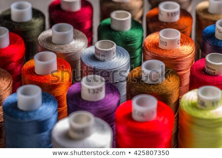 spools of colorful threads  Stock photo © OleksandrO