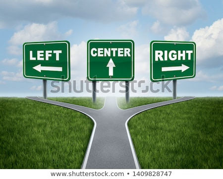 Left Wing And The Right Stock photo © Lightsource