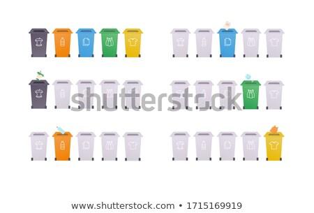 Verzamelen vuilnis web ingesteld tekst monster Stockfoto © robuart