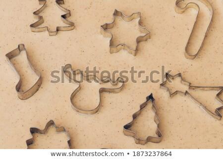 Noel zencefilli çörek farklı baharatlar Stok fotoğraf © dash