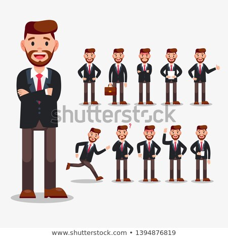 People doing different actions Stock photo © colematt