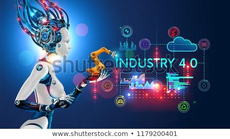 Technological revolution concept vector illustration. Stock photo © RAStudio