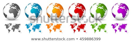 Stock fotó: Hírek · Föld · földgömb · 3D · 3d · render · illusztráció