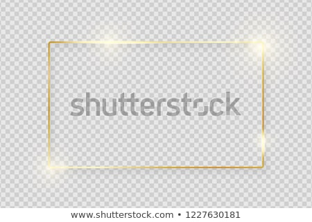 Happy New Year Greeting Card Greetings, Oval Frame Stock photo © robuart