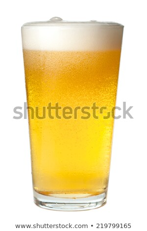 Pilsner Beer Pint Stock photo © albund