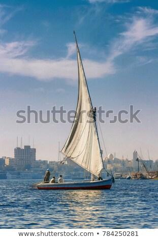 sailboat in aswan stock photo © givaga
