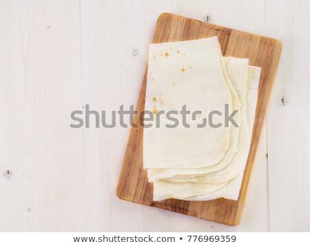 Brood tabel top ruimte koken Stockfoto © furmanphoto