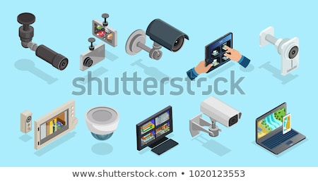 Different types of cameras set Stock photo © jossdiim