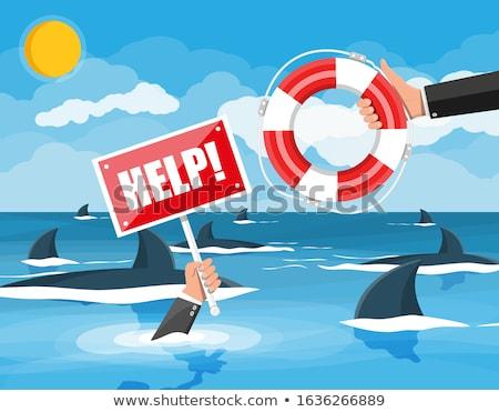 icebergue · negócio · escondido · econômico · visão - foto stock © lightsource