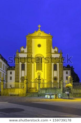 st francis xavier church paderborn germany stock photo © borisb17