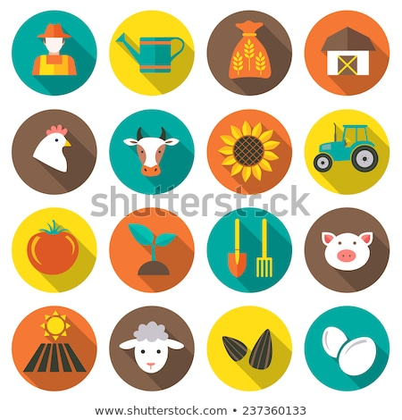 industrie · tools · iconen · vector - stockfoto © netkov1