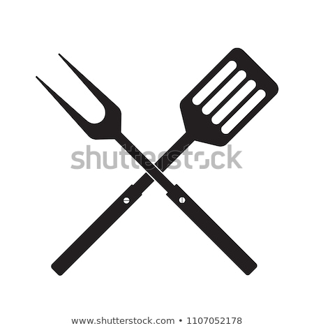 BBQ Barbecue Tools and Meat Vector Illustration Stock photo © robuart