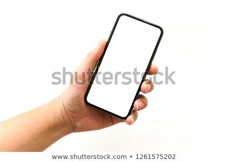 Hand charging phone  Stock photo © ra2studio