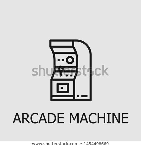 Mobile Arcade Basketball Game Illustration Stock photo © lenm