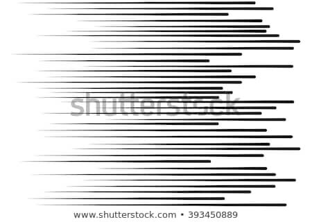 Cômico zoom linhas movimento meio-tom efeito Foto stock © SArts