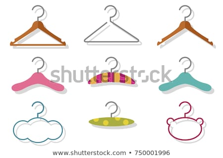 Wardrobe Element, Clothes on Hanger, Sale Vector Stock photo © robuart