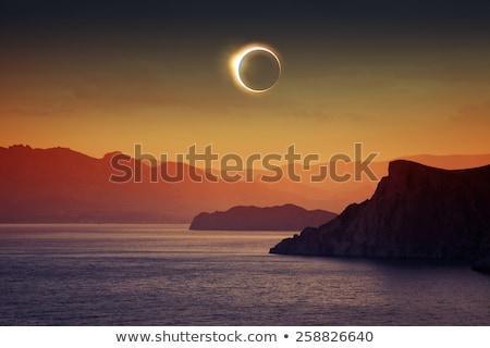 A Total Solar Eclipse Of The Sun Stock photo © solarseven