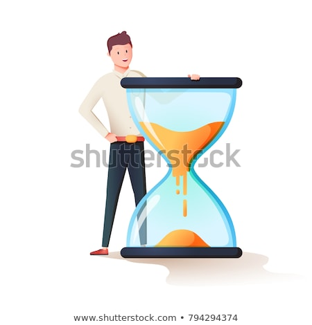 Alarm clock icon for time management or work efficiency concept Stock photo © ussr