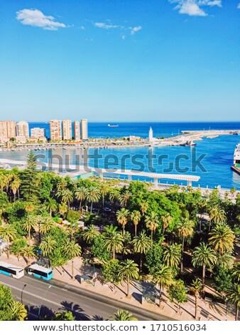 Porta málaga cidade andaluzia região Foto stock © Anneleven