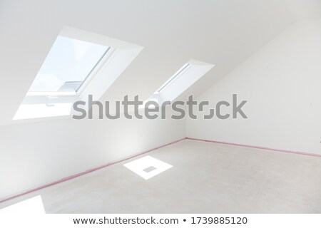 çatı katı boş oda hazır yeni zemin Stok fotoğraf © brebca